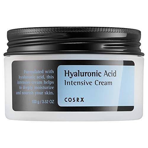 COSRX Hyaluronic Acid Intensive Cream, 3.53 oz / 100g   Wrinkle Cream   Korean Skin Care, Vegan, Cruelty Free, Paraben Free