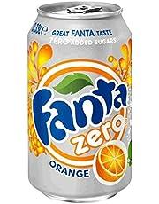 Fanta Zero Orang Blik 33Cl P24