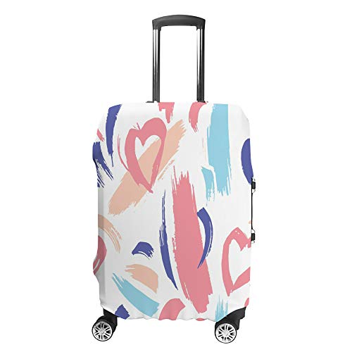 Luggage Cover Travel Anti-Scratch Suitcase Cover Baggage Protector Case Drawn Dry Brush Fit Washable Accessories Dustproof L