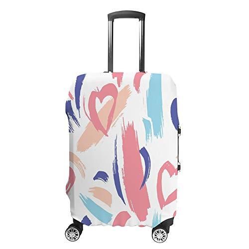 Cubierta de equipaje de viaje antiarañazos, funda protectora de equipaje, funda dibujada en seco, accesorios lavables a prueba de polvo