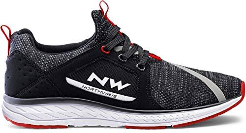 Northwave Podium Knit Chaussures de loisirs Noir 2021 - Noir - Noir , 45 EU
