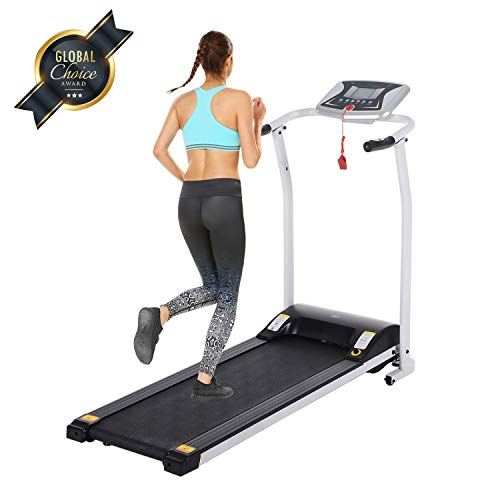 Read About OppsDecor Folding Treadmill for Home, Electric Treadmills with LCD Display Exercise Fitne...