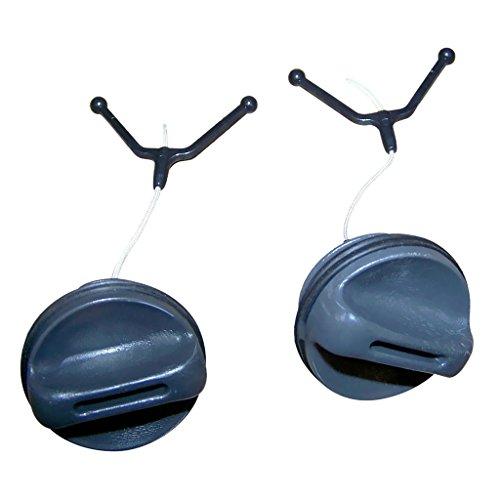 Baoblaze Tapón de Combustible de Gas/Tapón de Llenado de Aceite para Motosierra 362365371372 372XP