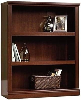 Sauder Camden County 3-shelf Bookcase Planked Cherry Finish