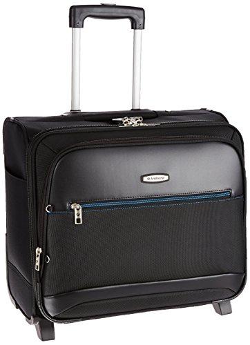 Aristocrat Concorde Polyester 44 cms Black Suitcase (STCONLPSLBLK)