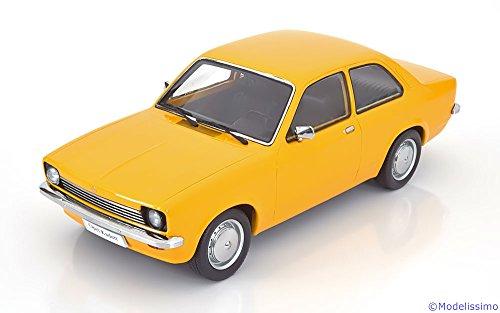 Opel Kadett C Limousine, dunkelgelb, Modellauto, Fertigmodell, KK-Scale 1:18
