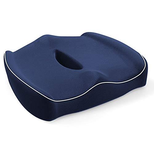 SARACAT クッション ヘルスケア座布団 低反発 腰痛クッションオフィス 健康クッション 骨盤サポート 体圧分...