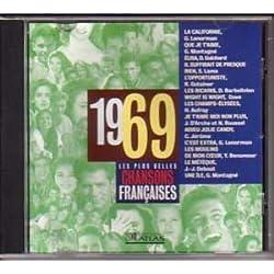 Les plus belles chansons françaises 1969 CD
