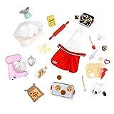 Our Generation BD37282C1Z Accessoire pour poupée Kit de pâtisserie Multicolore