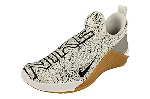 Nike Zapatillas de entrenamiento para hombre, blanco (Blanco/Negro-Ambiente Gris), 40.5 EU