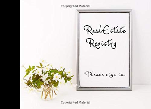 RealEstate Registry - Please sign in.: A Visitor guest book for Realtors.