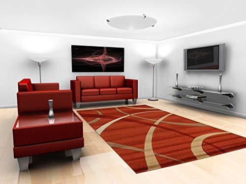 Viva Terra Tappeto, Rosso, 120 x 170 x 24 cm