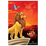 Der König der Löwen Poster King of Pride Rock The Lion
