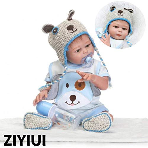 ZIYIUI Realista 50 cm 20 Pulgadas Reborn Bebé Mu�