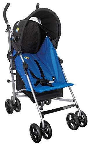 Carrinho Guarda-Chuva Easy até 15kg, Tutti Baby, Azul