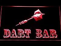 ADVPRO Dart Bar LED看板 ネオンプレート サイン 標識 Red 600 x 400mm st4s64-m118-r