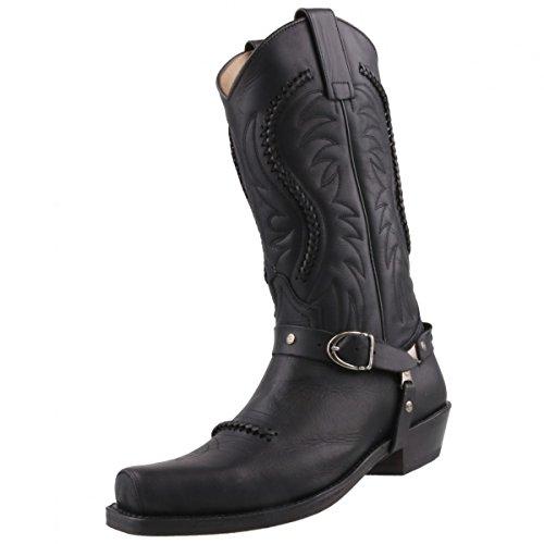 Sendra Boots, Stivali uomo Nero nero, Nero (nero), 43