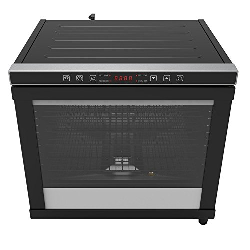 Check Out This CHARD CD-80C, Pro Power Dehydrator, Black, 80 liter, 12 rack, 1700 watts
