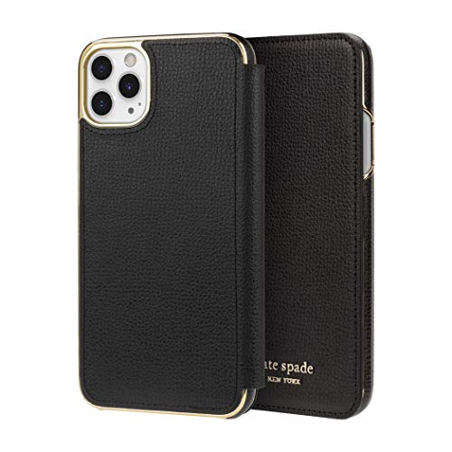 kate spade new york Black Folio Case for iPhone 11 Pro Max - ID & Card Holder