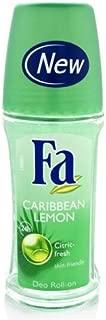 Fa Deodorant Roll-On - Caribbean Lemon 50ml/1.7oz