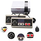 (2021 Newest!) Classic Mini Retro Game Console with Built-in 620 Games and 2 NES Classic Controllers, AV Output Video Games for Kids, Children Gift, Birthday Gift Happy Childhood Memories