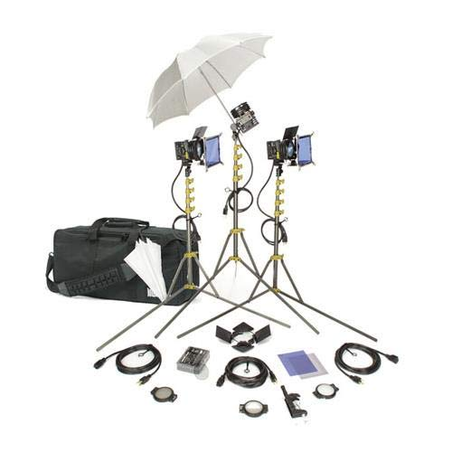 Lowel GO All Pro Kit, Quartz Lighting Outfit with LB-30 Soft Case.