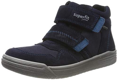 Superfit Jungen EARTH-509057 Hohe Sneaker, Blau (Blau/Blau 80), 29 EU