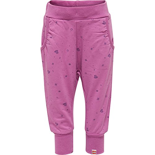 Lego Wear Duplo Girl PAPINA 603-Sweathose Pantalon, Violet (Purple 486), 98 cm Bébé Fille