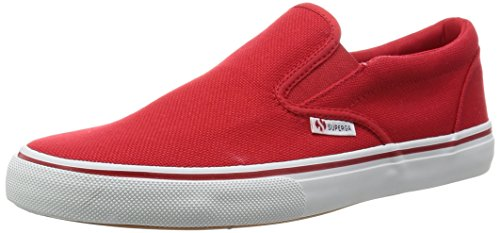 Superga Unisex 2311-Cotu Sneaker mit niedrigem Schaft, rot, 38 EU