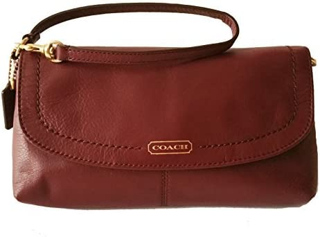 Coach Campbell Leather Large Wristlet