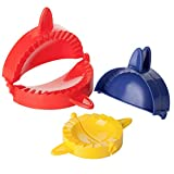 BTaT- Dough Press Set, 3 Pack, Empanada Press, Dough Press, Dumpling...