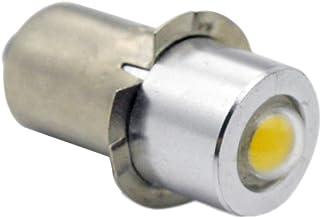 Ruiandsion P13.5S LED Torch Lamp 4.5 V 1 W 200LM COB 6000 K witte LED-lamp voor zaklamp zaklamp koplamp, niet-polariteit (...