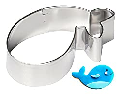 Whale Stainless Steel Cookie Cutter