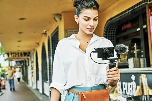 Sony RX100 VII   Premium Bridge-Kamera (1,0-Typ-Sensor, 24-200 mm F2.8-4.5 Zeiss-Objektiv, Autofokus zur Augenverfolgung für Mensch und Tier, 4K-Filmaufnahmen und neigbares Display)