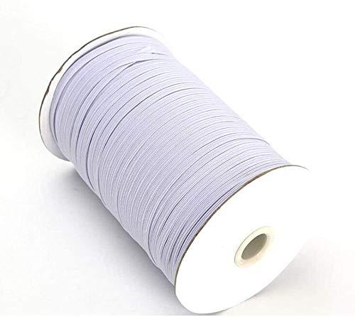 Geflochtene elastische Band Cord Roll Spule zum Nähen Basteln 3 MM 1/8 Zoll 435 Yards 400 Mts Stretch String Seil für Kleidung Gehäuse DIY Ohrschlaufe Tagesdecke Manschette