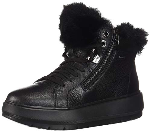 Geox Damen D Kaula B ABX D Snow Boot, Black, 38 EU