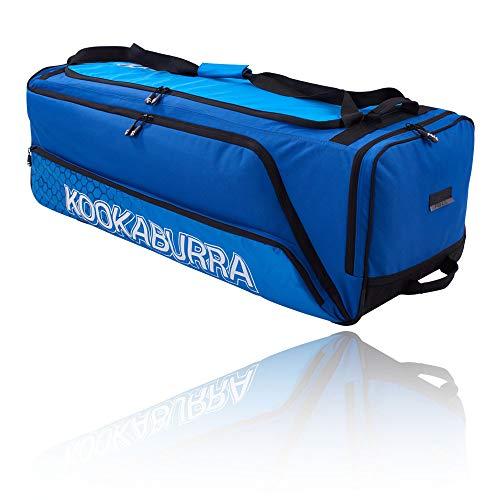 KOOKABURRA 2020 Pro 2.0 Cricket Wheelie Bag, schwarz/Lime, 100 x 41 x 34 cm (L x W x H)
