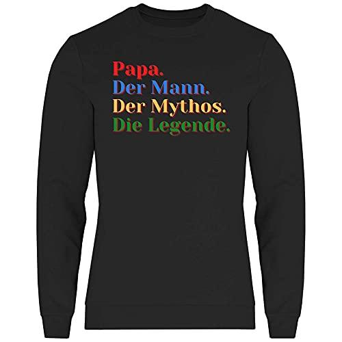 Print Dynastie Felpa Uomo Gift Idea Dad Father Famiglia Padre Figlia Figlio Amore Birra, Taglia:3XL,...