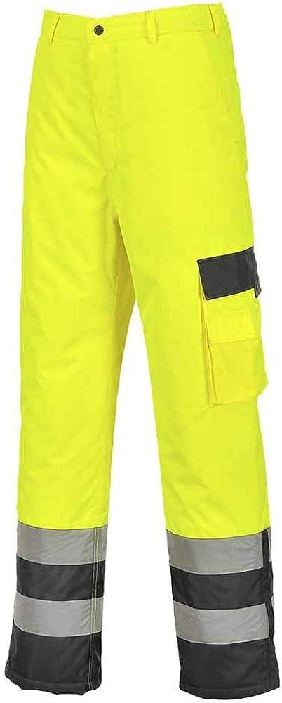 高級な Portwest Hi-Vis Lined Contrast S686 倉 - Trousers