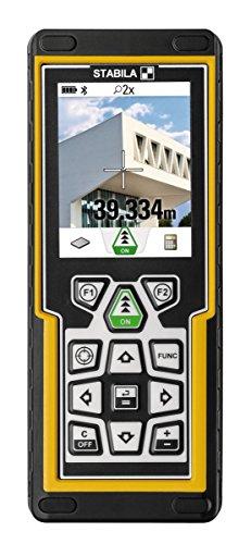 STABILA Laserentfernungsmesser LD520 mit Kamera und Bluetooth und App, Reichweite bis zu 200 m
