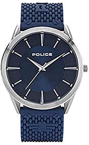 Police Reloj Analógico para Hombre de Cuarzo con Correa en Ninguno 1