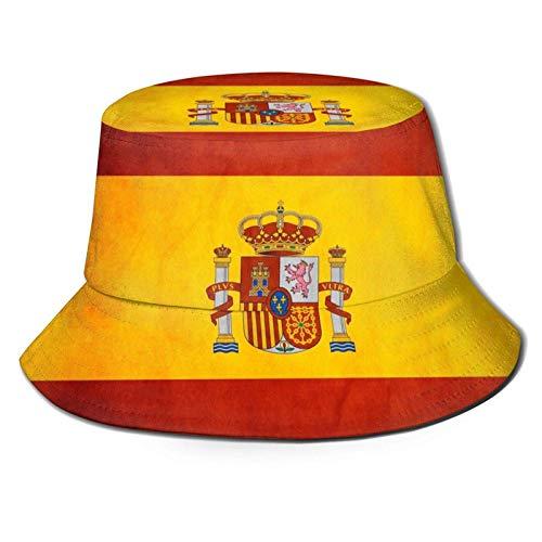 Sombrero de Sol de Cubo con Bandera de España para Hombres y...