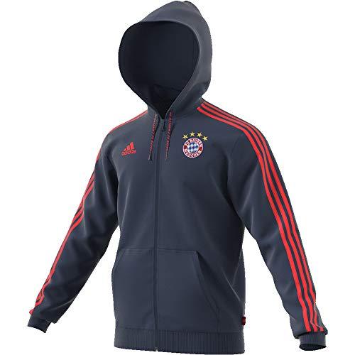 adidas Herren FCB Fz Hd Sweatshirt, azurblau, M