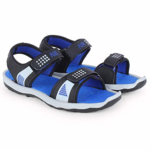 Longwalk Men & Boys Sandals, Casual Sandal, Walking, Lightweight Floaters Multi Color Blue