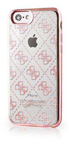 Guess GUHCP7TR4GRG Custodia per iPhone 7, Oro Rosa