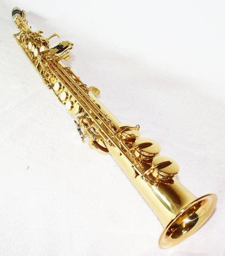 Sopran Saxophon gold + Koffer & Zubehör 6433L