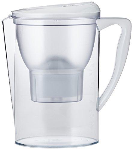 AmazonBasics Wasserfilter 2,3 Liter - Weiß