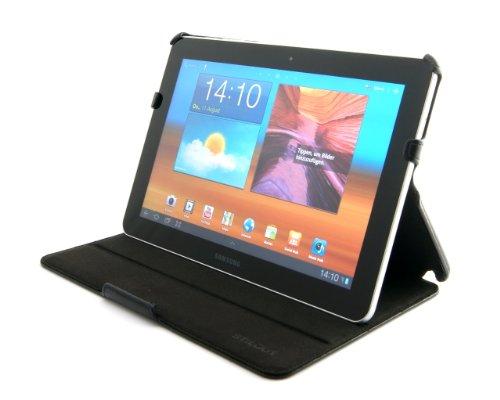 StilGut UltraSlim Hülle, Tasche mit Stand- & Präsentationsfunktion kompatibel mit Samsung Galaxy Tab 8.9, schwarz