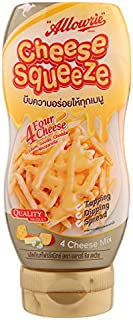 Allowrie, Cheese Squeeze, 4 Cheese Mix, 310 g [Pack of 1 piece]