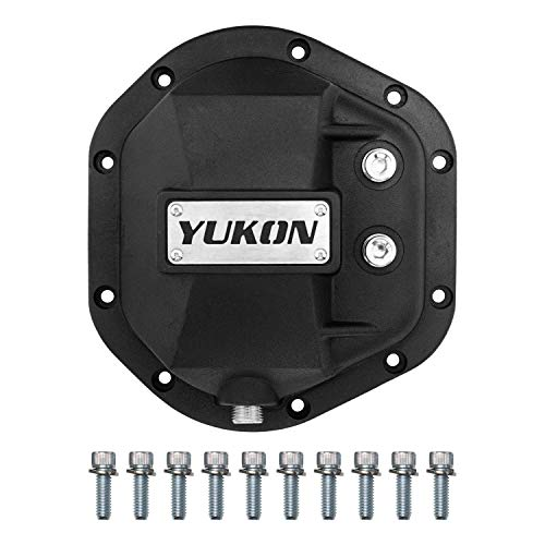 Yukon Gear & Axle YHCC-D44 Black Hardcore Differential Cover
